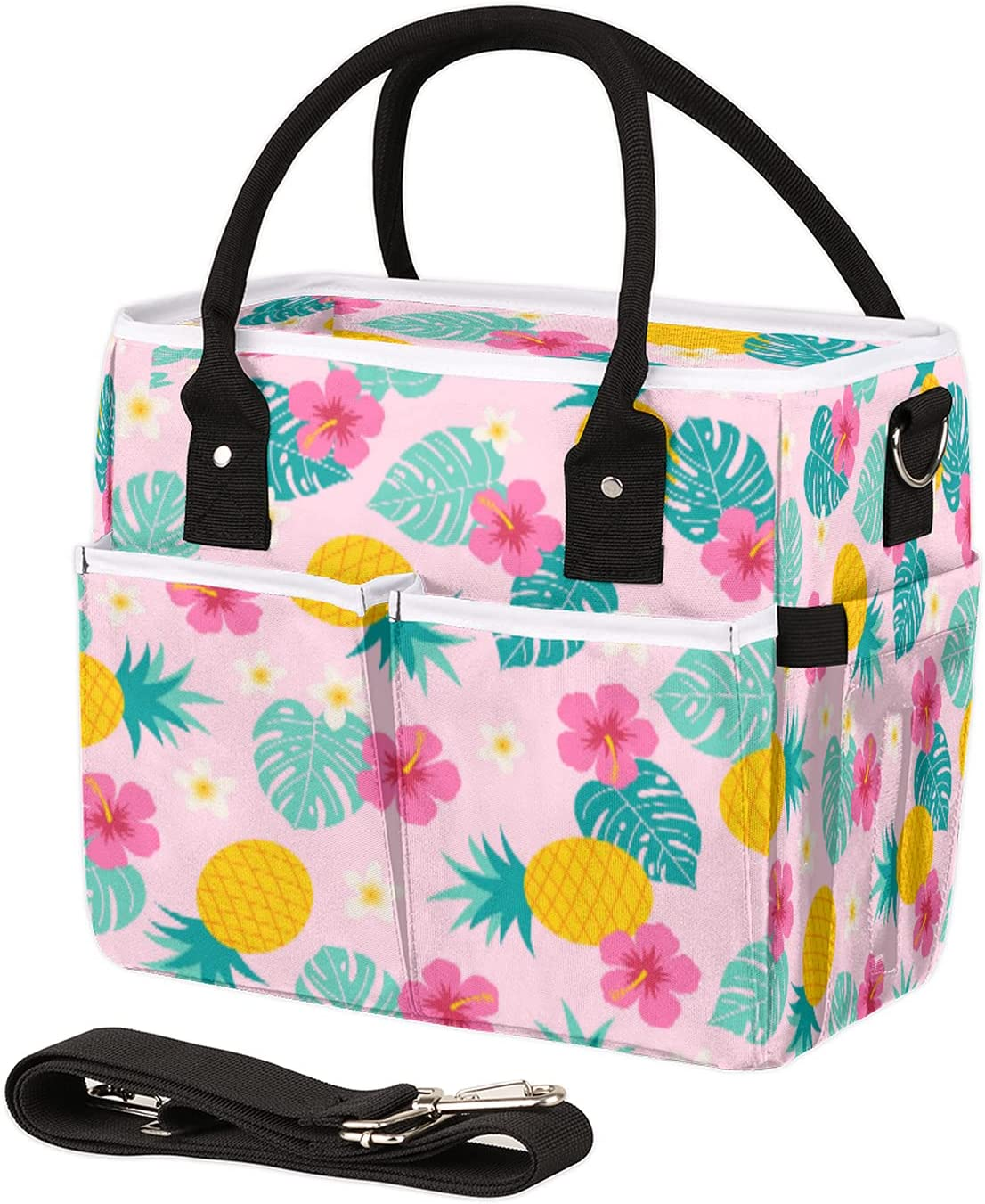 Insulated Lunch Bag for Women Special price for a limited time Men Oakland Mall Pineapple Palm Reusable L Leaf