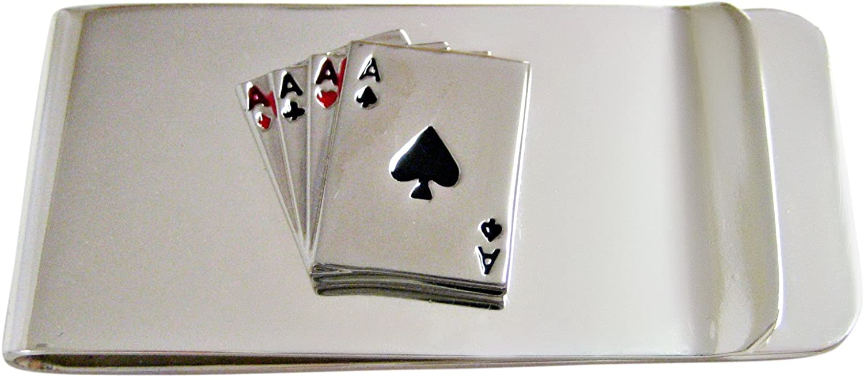 Kiola Designs Four Aces Gambling Money Clip