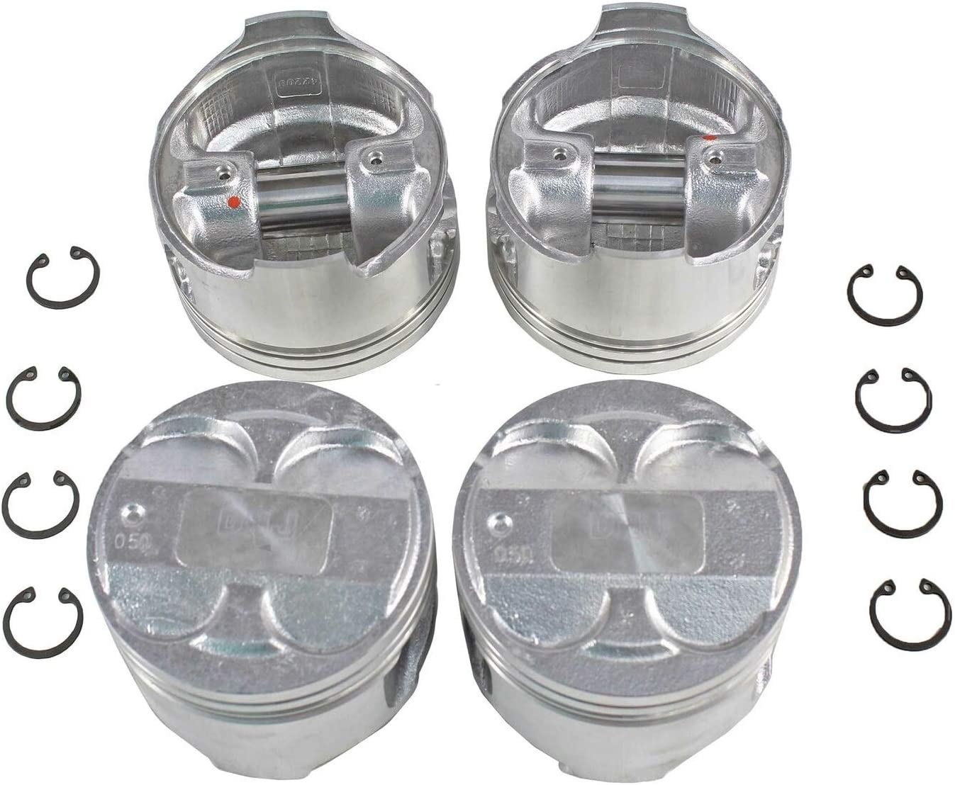 4 Pcs of Award P430A.20 Oversize Compatible Complete with Max 83% OFF Set Piston
