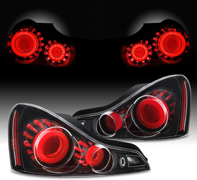 オンラインショッピング 当店は最高な サービスを提供します GTR Style For 2008-2013 Infiniti G37 Q60 LED 14-15 3D Coupe