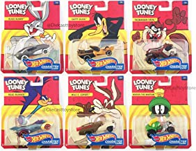 HOT WHEELS LOONEY TUNES ENTERTAINMENT CHARACTER CARS 6PCS DMH73-999C