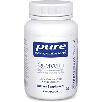 Pure Encapsulations - Quercetin - Hypoallergenic Supplement with Bioflavonoids for Cellular, Cardiometabolic and Immune Health* - 120 Capsules