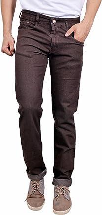 STUDIO NEXX Men's Coffee Regular fit Jeans