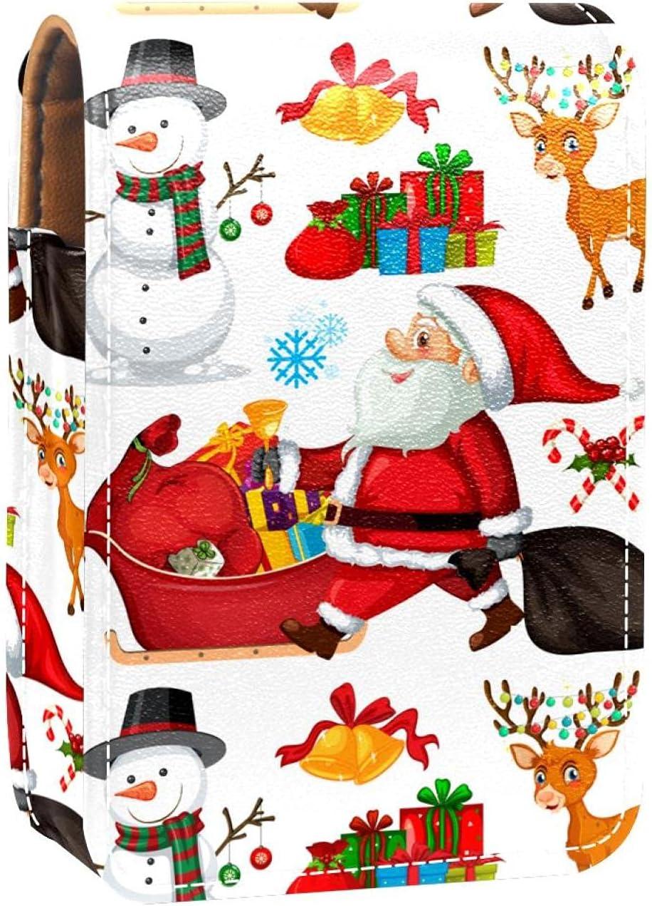 Regular store Christmas Santa Claus Elk Snowman Lip Holder Deer Cheap Gloss Pattern