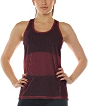 icyzone Workout Racerback Tank Tops for Women - Womens Activewear Tops, Yoga Athletic Muscle Tanks