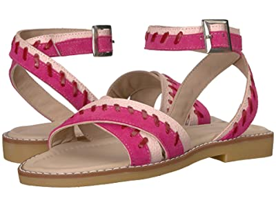 Elephantito Antibes Sandal (Toddler/Little Kid/Big Kid) (Hot Pink) Girls Shoes