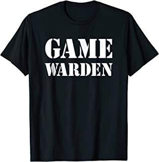 game warden shirt