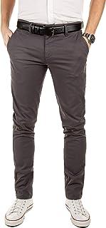 Yazubi Men's Dustin Chino Trousers with Belt