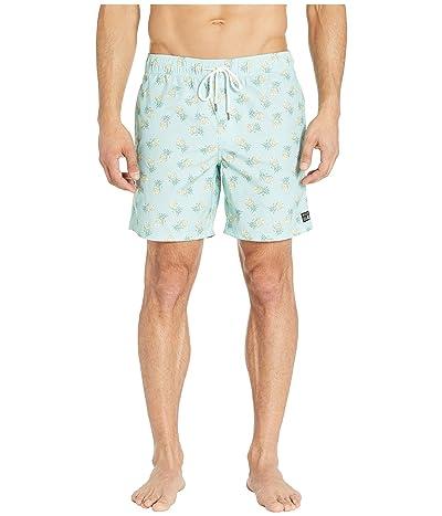 RVCA Program Elastic Shorts (Blue Haze) Men