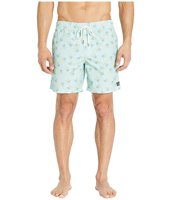 RVCA Program Elastic Shorts (Blue Haze) Men