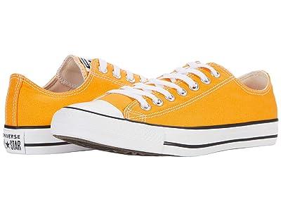 Converse Chuck Taylor All Star Ox Seasonal Color (Kumquat) Athletic Shoes