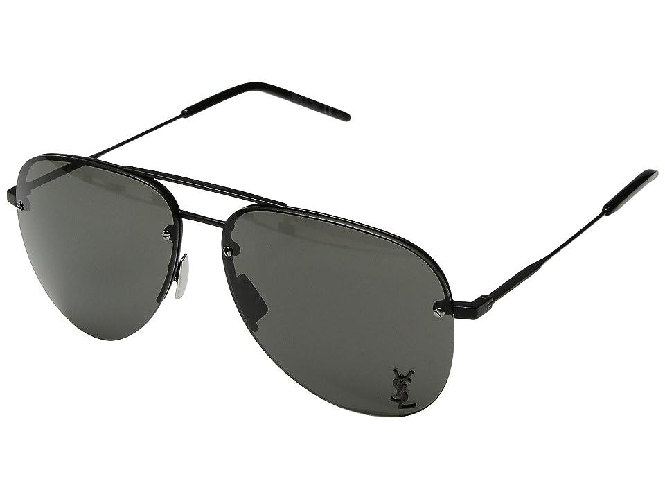 Saint Laurent Classic 11 M (Black/Grey) Fashion Sunglasses