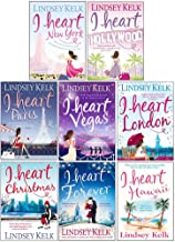 I Heart Series Lindsey Kelk 8 Books Collection Set (New York, Hollywood, Paris, Vegas, London, Christmas, Forever, Hawaii)