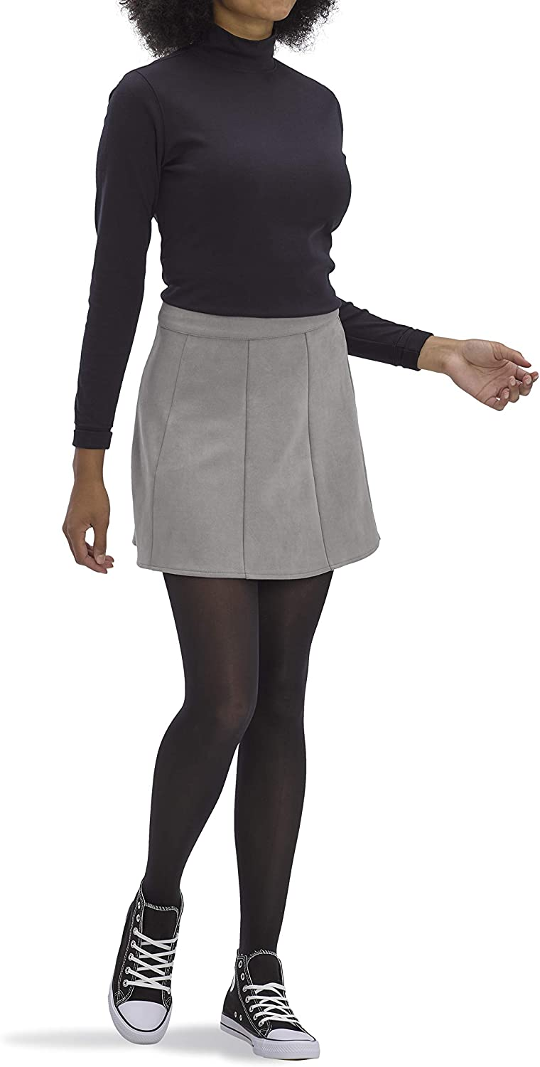No Nonsense Women's Opaque Sheer to Waist Tight at  Women's Clothing store