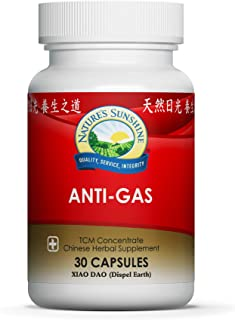 Nature's Sunshine Anti-Gas Chinese TCM Concentrate, 30 Capsules