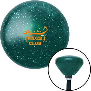 American Shifter 225394 Black Flame Metal Flake Shift Knob with M16 x 1.5 Insert Red Officer 08 - Major General