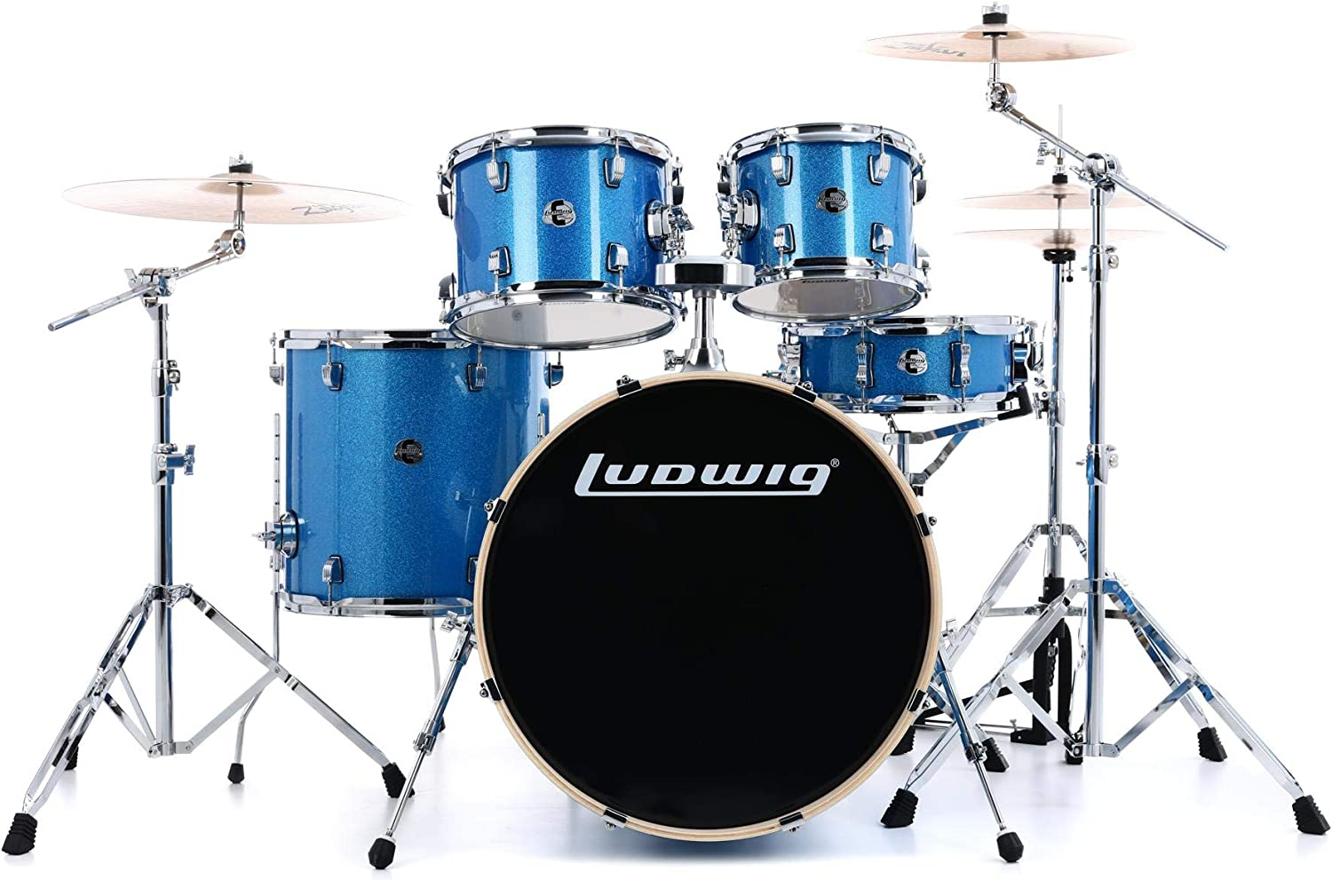 Ludwig Element shipfree Evolution LCEE220 At the price 5-piece Set Drum with Complete