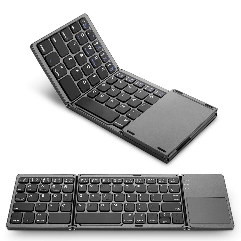 M MASTER Foldable Bluetooth Keyboard Rechargable