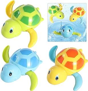 TOYMYTOY 3pcs bebé baño juguetes de natación bañera