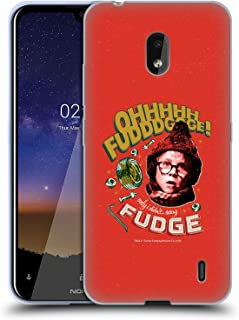 Official A Christmas Story Oh Fudge Composed Art Soft Gel Case Compatible for Nokia 2.2