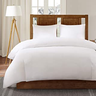 Sleep Philosophy 3M Scotchgard Comforter Protector Duvet Cover with Zipper Flap - Waterproof - Hypoallergenic - Protect Against Dust Mites, Allergens, and Animal Stains - King - Bed Guardian