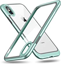 ESR Bumper Hoop Case for iPhone X/XS, Heavy Duty Armor with Flexible Inner Cushion [Reinforced Camera Protection] [Glass-Back Safe] for 5.8