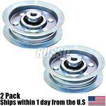 Haliniose | (Pack of 2) Flat Idler Pulleys replace 42