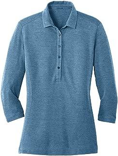 Joe's USA Ladies Coastal Cotton Blend Polo in Sizes XS-4XL