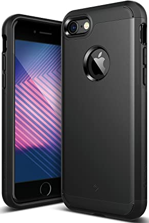 Caseology Legion for Apple iPhone 7 Case (2016) - Dual-Layer Armor - Matte Black