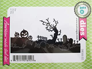 Impression Obsession Halloween Landscape Layers Craft Die