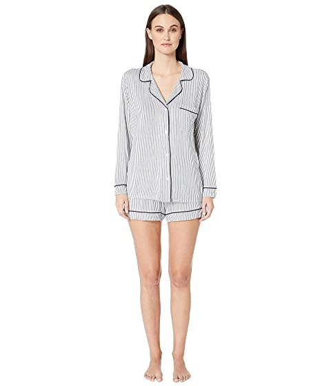 Eberjey Sleep Chic-The Long Sleeve Shorts PJ Set