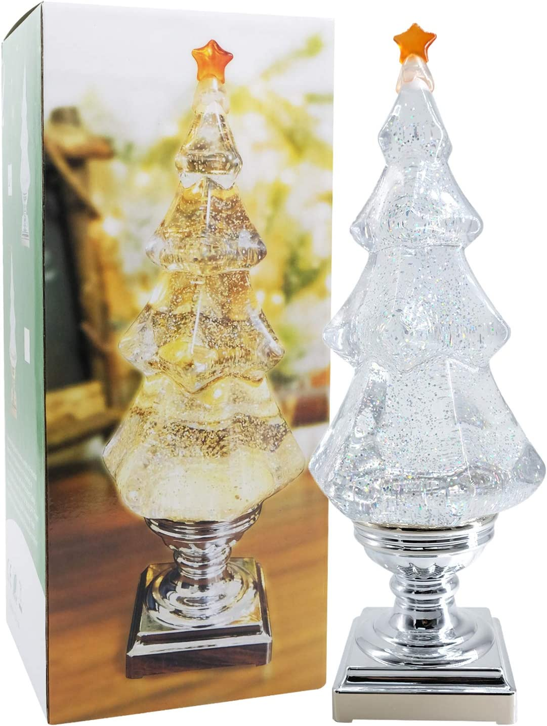 DRomance Swirling Glitter Our shop most popular Christmas Tree Light-u famous LED Music with