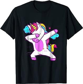 Dabbing Unicorn Shirt Girls Boys Adults - Unicorn Dab Shirt