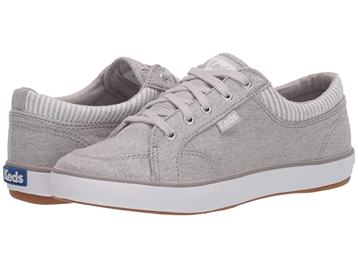 Keds  Center Chambray/Stripe (Light Grey) Womens Lace up casual Shoes