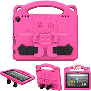 MoKo Custodia Protettiva Compatible con all-New Fire HD 8 Tablet And Fire HD 8 Plus Tablet (10th Generation, 2020 Release)...