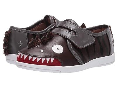 EMU Australia Kids Dinosaur Sneaker (Toddler/Little Kid/Big Kid) (Espresso) Boy