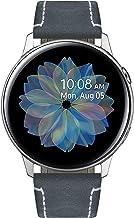 Bandas de reloj compatibles con Samsung Galaxy Watch 42mm/46mm,Active 2,Samsung Gear S3 Classic/Frontier Smartwatch Quick Release Correa de cuero de caballo loco Reemplazo 20mm 22mm Pulsera de pulsera