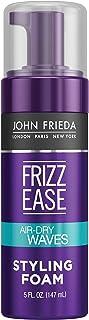 John Frieda Frizz Ease Dream Curls Air Dry Waves Styling Foam for Curls and Waves, Lightweight Formula, 147ml