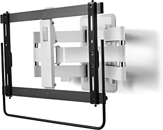 """One For All XL TV Bracket – Screen Size 32-90""""- Unique Handle for Smooth Movement - 120° Turn and 20° Tilt Adjustment – Hi..."""