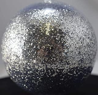 Vintage Paint Chrome Silver 0.015 Square Metal Flake - 3 Ounce