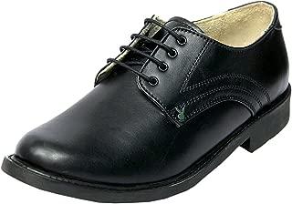 XY HUGO Leather Formal & School Shoe for Boys 2501 Black