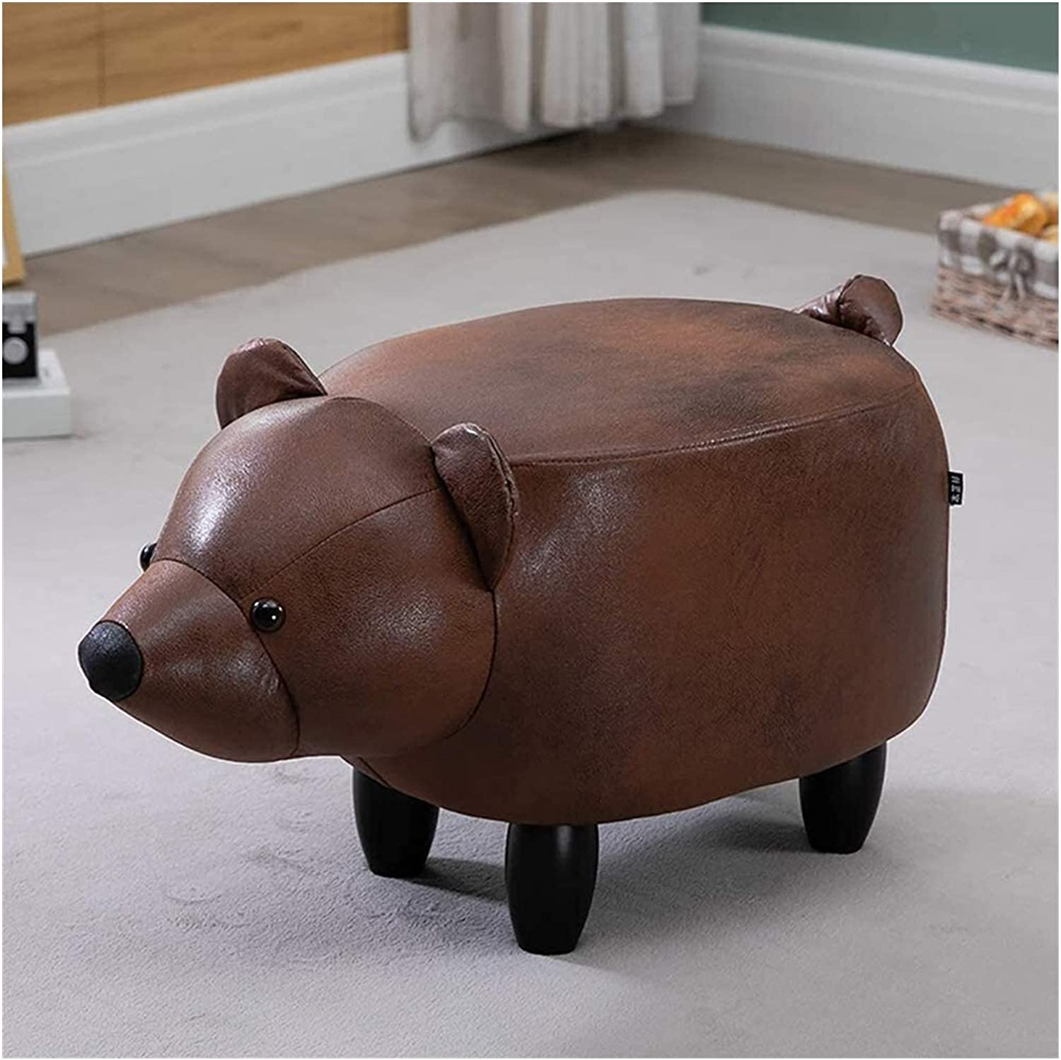 KDRICH Portable Household Stool Small Animal S Leather Kid Bench Popular product Baltimore Mall