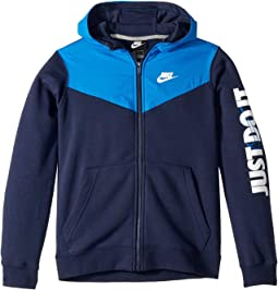 NSW Just Do It Full Zip Hoodie (Little Kids/Big Kids)