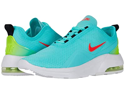 Nike Air Max Motion 2 (Aurora Green/Laser Crimson Volt/White) Women