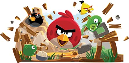 RoomMates RMK1992GM Angry Birds Peel and Stick Giant Wall Decals