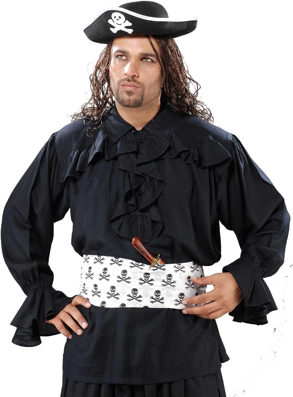 Medieval Jacksonville Mall Poet's Pirate Francis Costume Popular Drake Black Shirt