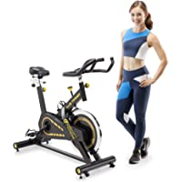Circuit Fitness AMZ-955BK 40lbs. Flywheel Club Revolution Cardio Cycle