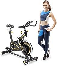 CIRCUIT FITNESS Circuit Fitness 40 lbs. Flywheel Deluxe Club Revolution Cardio Cycle Manual Resistance AMZ-955BK