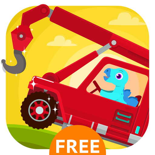 Dinosaur Rescue - Truck Games for Kids