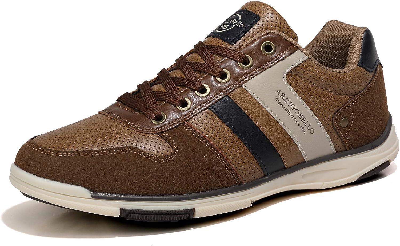 AX BOXING Zapatillas Hombres Aire Libre Deportivo Sneakers Cómodo Elegante Casual Zapatos Tamaño 41-46
